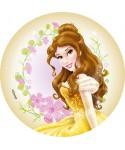 Disque pâte à sucre Belle Disney