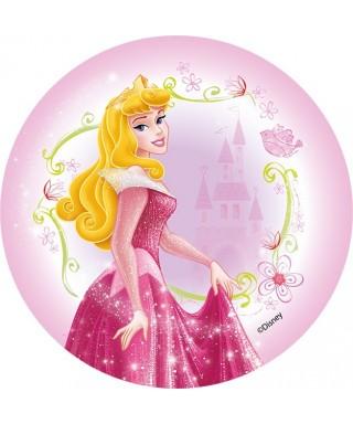 Disque pâte à sucre Aurore Disney