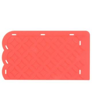 Tapis de texture silicone Toile Modécor