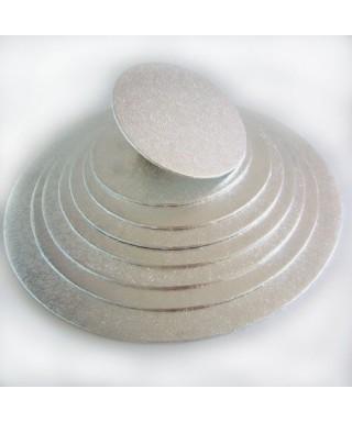 Plateau de présentation ronds fin Ø 17,5 cm FunCakes