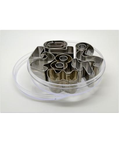 Emporte pièces en métal Chiffres arrondis de 0 à 9