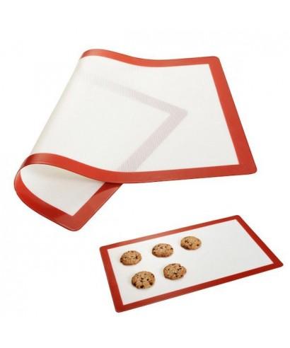 Feuille de cuisson silicone anti-adhèrent 60 x 40 cm