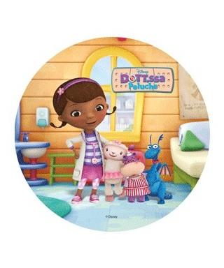 Disque pâte à sucre Dottie et ses amis Docteur la peluche Disney