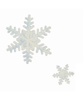 Emporte-pièce poussoir Flocon de neige set/3