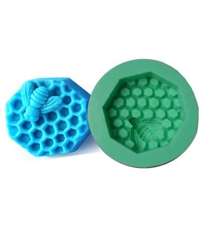 Moule silicone 3D Abeille