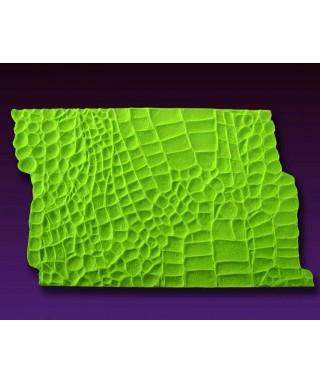 Tapis de texture silicone Peau d'Alligator