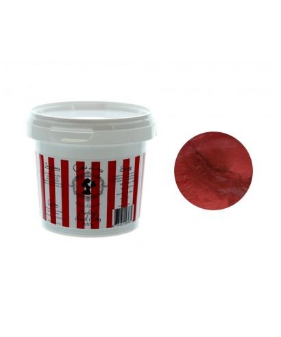 Dentelle alimentaire Rouge Rubis nacré 200 gr prête à l'emploi Cake Lace