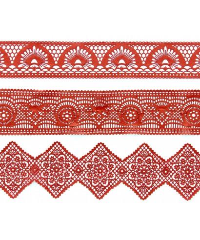 Tapis dentelle Art Deco Cake lace