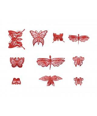 Tapis dentelle Papillons 3D Cake Lace