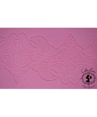 Tapis dentelle Art Nouveau Cake Lace