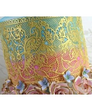 Tapis dentelle Fantasia Cake Lace