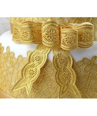 Tapis dentelle Noeuds vintage Cake Lace