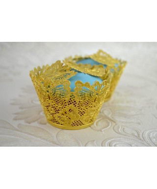 Tapis Wrapper Cupcake papillons Cake Lace