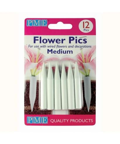 Pics pour Fleurs Medium set/12 PME