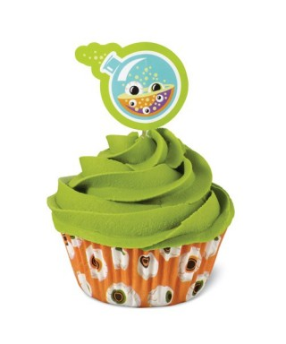 Combi Pack Cupcakes Halloween Yeux set/24 Wilton