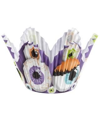 Caissettes Halloween Yeux set/75 Wilton