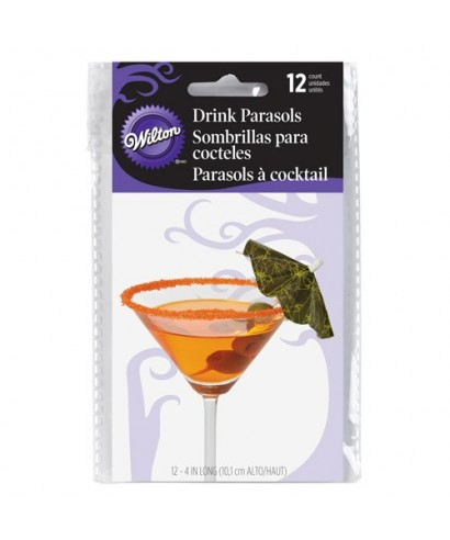 Parapluies à Cocktail (x12) Wilton