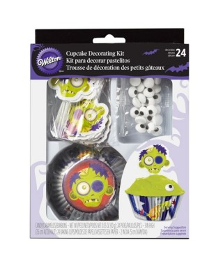 Kit de Décoration Cupcake Zombie Wilton