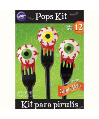 "Kit ""No-Bake Pops"" Yeux Wilton"