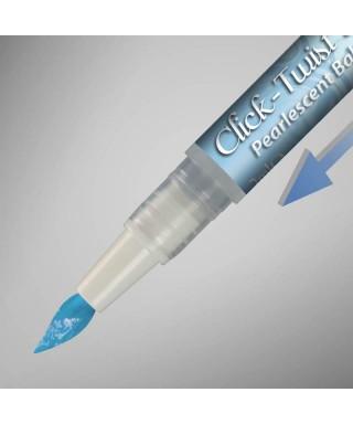 The Click-Twist Brush® Métallique bleu bébé Rainbow Dust
