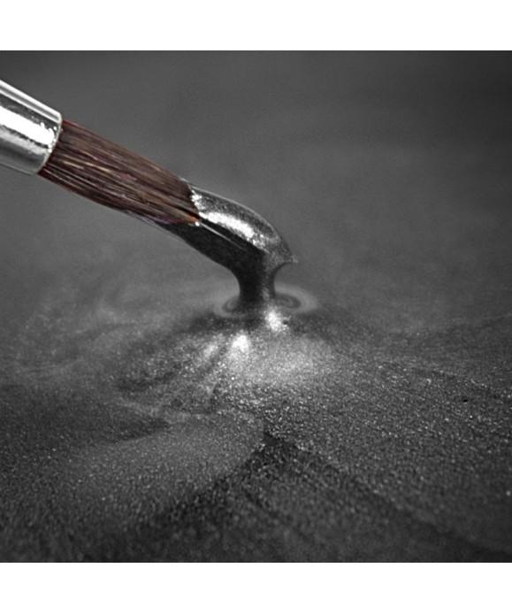 Peinture métallique Argent Foncé 25ml Rainbow Dust
