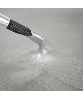 Peinture métallique BLANC Nacré 25ml Rainbow Dust