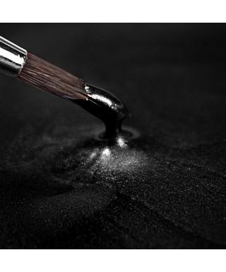 Peinture métallique Noir 25ml Rainbow Dust