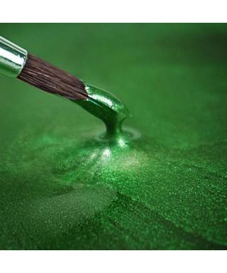 Peinture métallique HOUX VERT 25ml Rainbow Dust