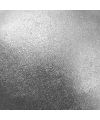 Soie alimentaire Argent clair métallisé Rainbow Dust