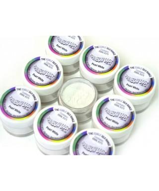 Soie alimentaire blanc nacré Rainbow Dust