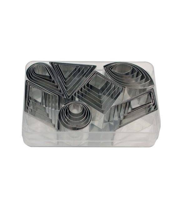 Emporte-pièce mini geometrics set/42 Städter