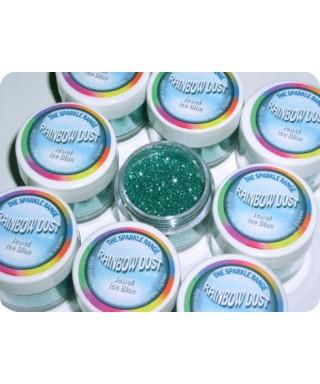 Paillette Bijou Bleu Glacial Rainbow Dust