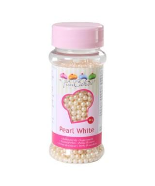 Perle de Sucre Blanc nacré 80 gr FunCakes