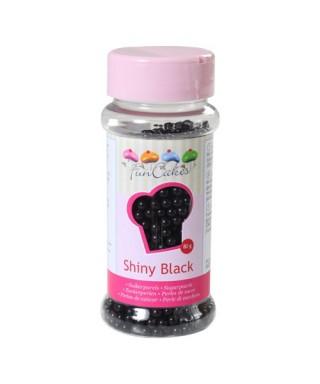 Perle de Sucre Noir Brillant 80 gr FunCakes