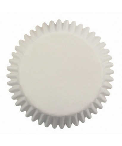 Caissettes à Cupcake Blanche pk/60 PME