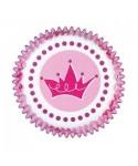 Caissettes Cupcake Princesse pk/75 Wilton