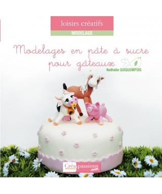 Livre Modelages en pâte à sucre pour gâteaux de Natasel