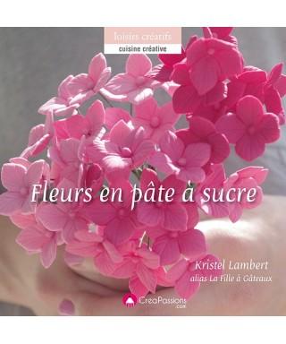Livre Fleurs en pâte à sucre de Kristel LAMBERT
