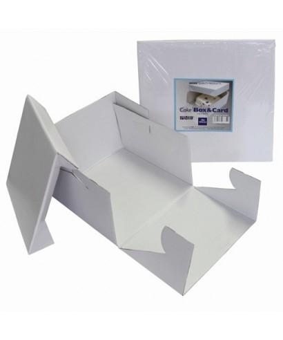 Boîte à gâteau 17,5x17,5x15cm PME