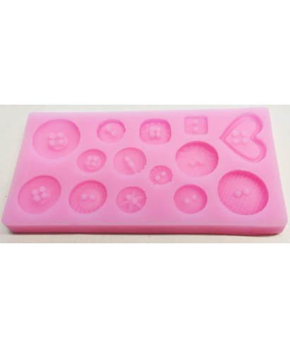 Moule Silicone boutons