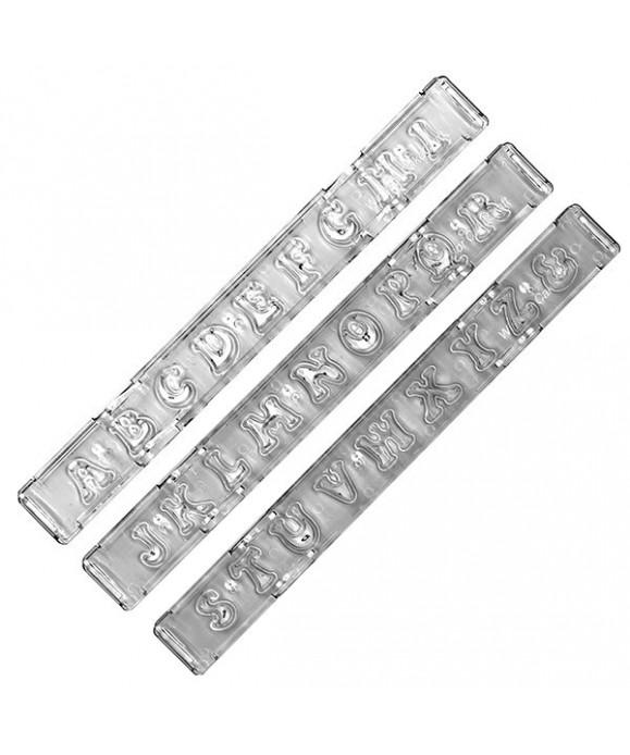 Clikstix Lettres majuscules Groovy Windsor Craft