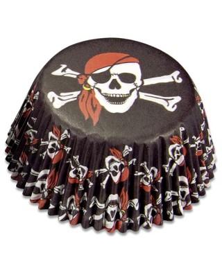 Caissettes Cupcake Pirates set/50 Städter