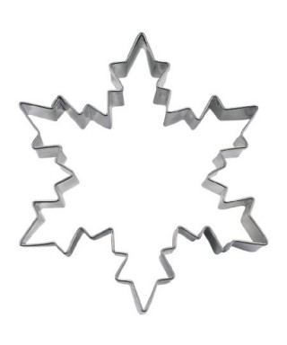 Emporte-pièce métal Cristaux de neige 9,5cm Städter