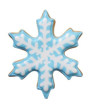 Emporte-pièce métal Comfort Grip flocon de neige Wilton