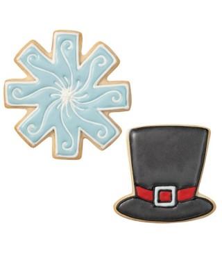 Emporte-pièce métal Bonhomme de neige set/3 Wilton
