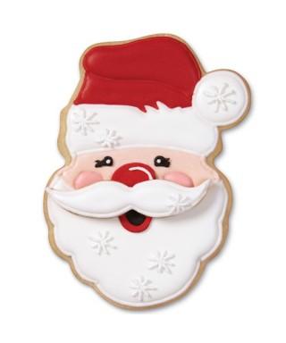 Emporte-pièce métal Père Noël avec Moustache Wilton