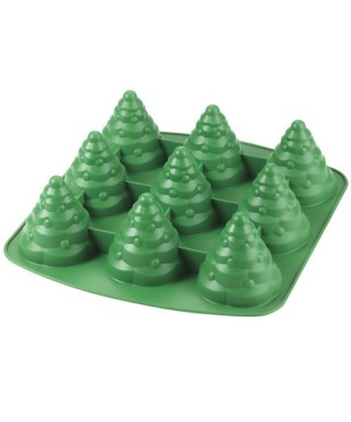 Moule silicone 3D Sapin Wilton