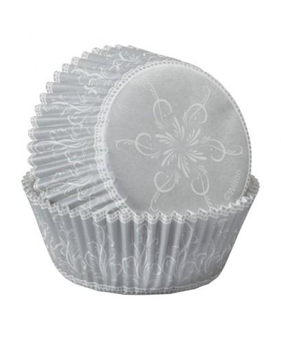 Caissettes à cupcakes Sparkle & Cheer pk/75 Wilton
