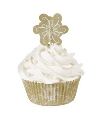 Caissettes à cupcakes Pack Sparkle & Cheer pcs/24 Wilton