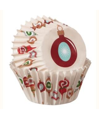 Mini Caissettes à cupcakes Holiday Sweet Swap pk/75 Wilton
